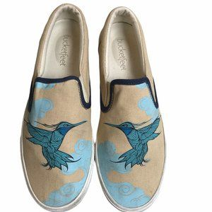 Bucketfeet Aerialist Shoes Low Top Canvas Slip On